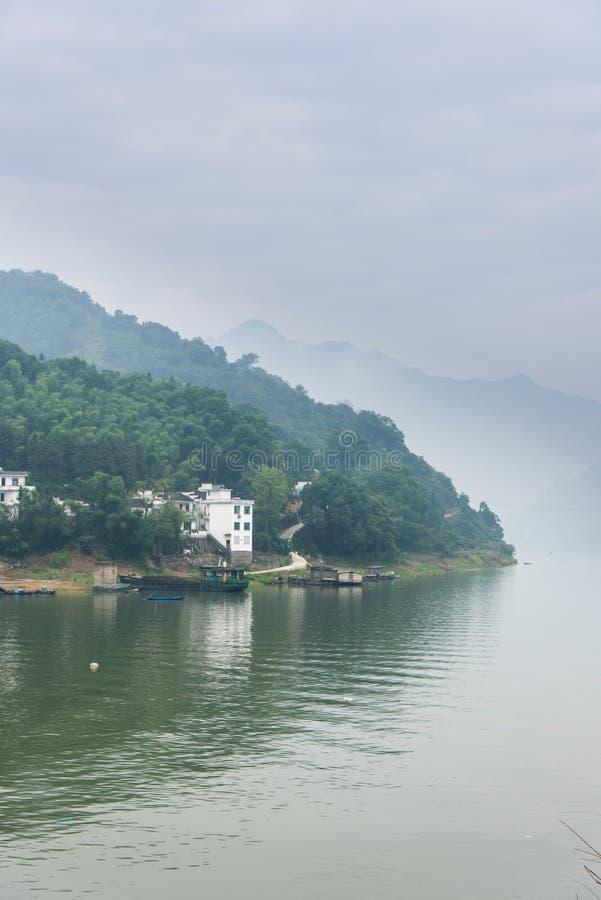 Xinan river gallery stock photo