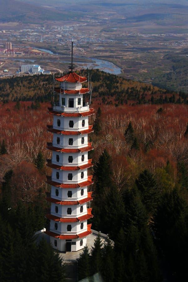 Xing 'uma torre fotografia de stock royalty free