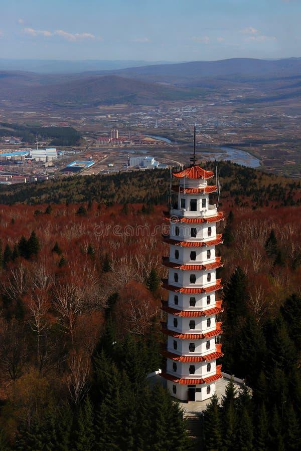 Xing 'una torre foto de archivo