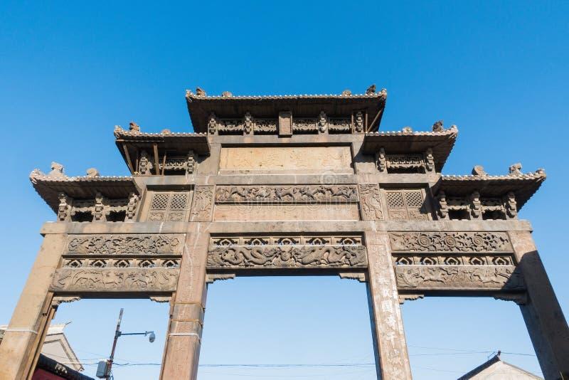 Xingcheng en forntida kinesisk stad arkivfoto