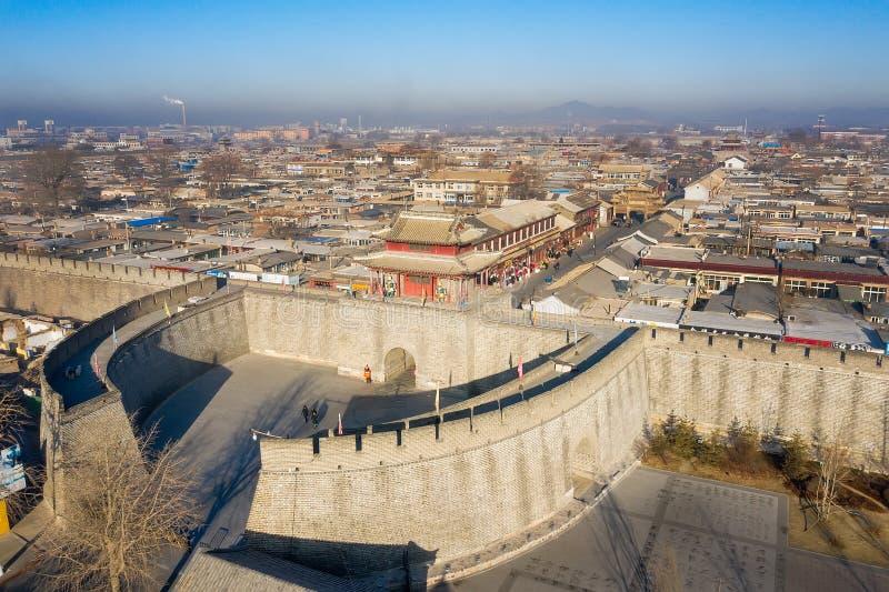 Xingcheng, une ville chinoise antique photos stock