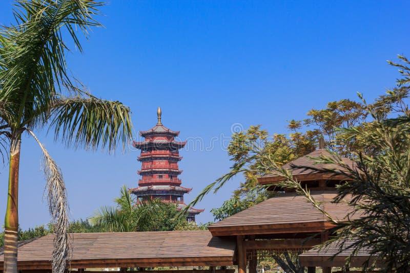 Xinglin pawilon w Ogrodowym expo fotografia royalty free