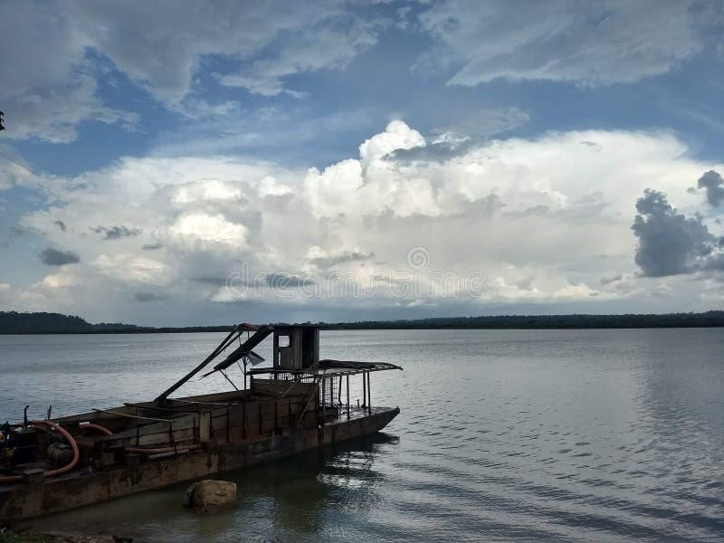 Xingu rzeka obraz royalty free