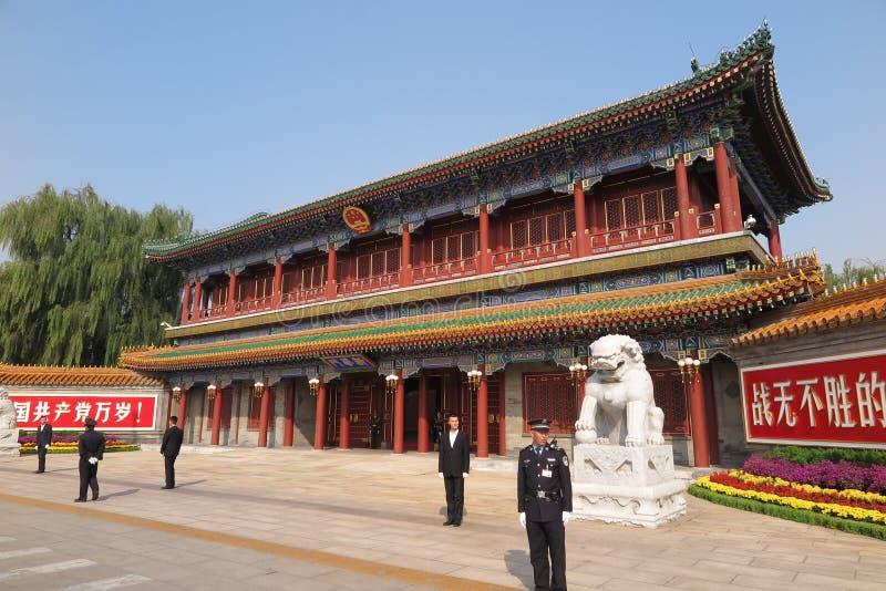 Xinhuapoort stock afbeeldingen