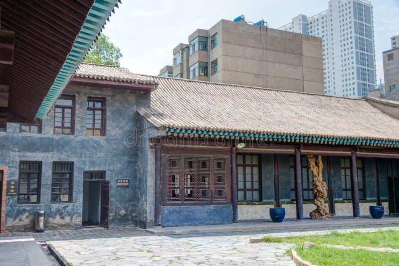 XINING, CHINA - Jul 10 2014: MA BUFANG'S OFFICIAL RESIDENCE(Ma B stock photography