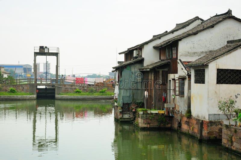 Xinshi wody miasteczko Chiny obrazy royalty free