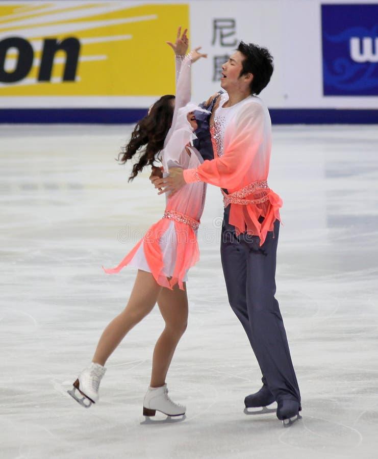Xintong Huang and Xun Zheng (CHN)