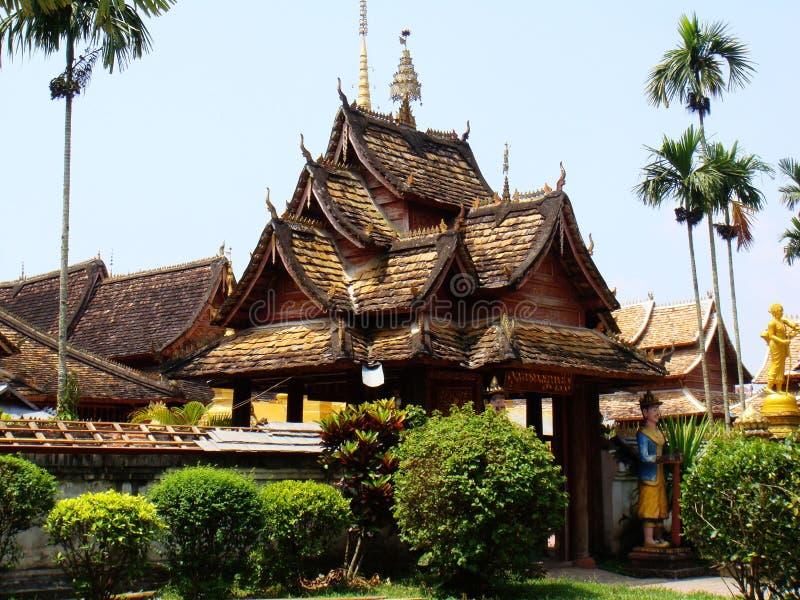 Xishuangbanna, temple. Rich Hinayana Buddhism culture ,Southeast Asia scenery ,yunnan stock photography