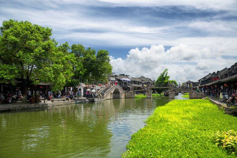 Xitang ancient water Town China royalty free stock photography
