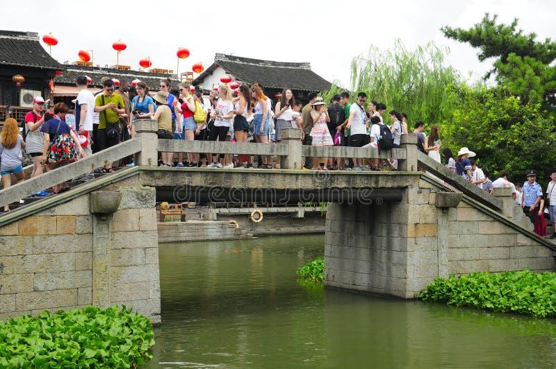 Xitang Water Town Bridge royalty free stock photography