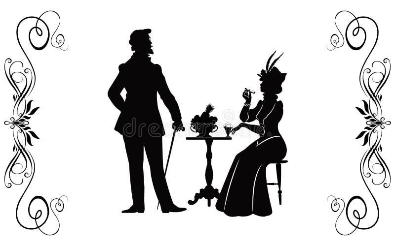 XIX secolo - 6 royalty illustrazione gratis