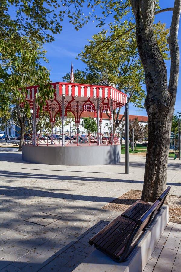 xix wiek Bandstand w Republica ogródzie zdjęcia royalty free