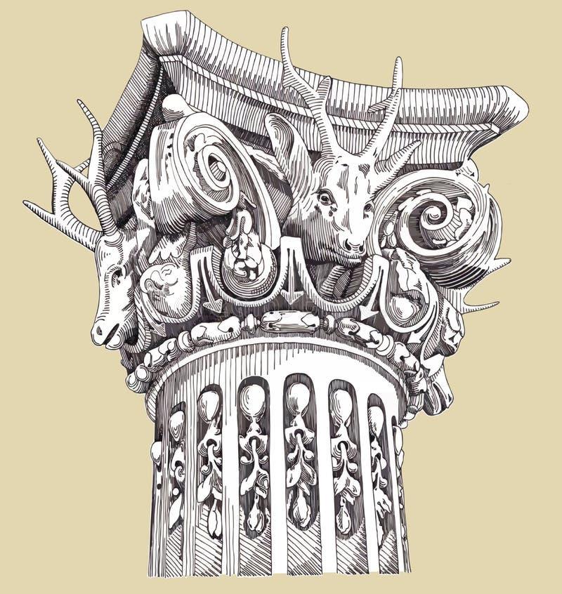 xix wiek ulgi ilustracja wektor
