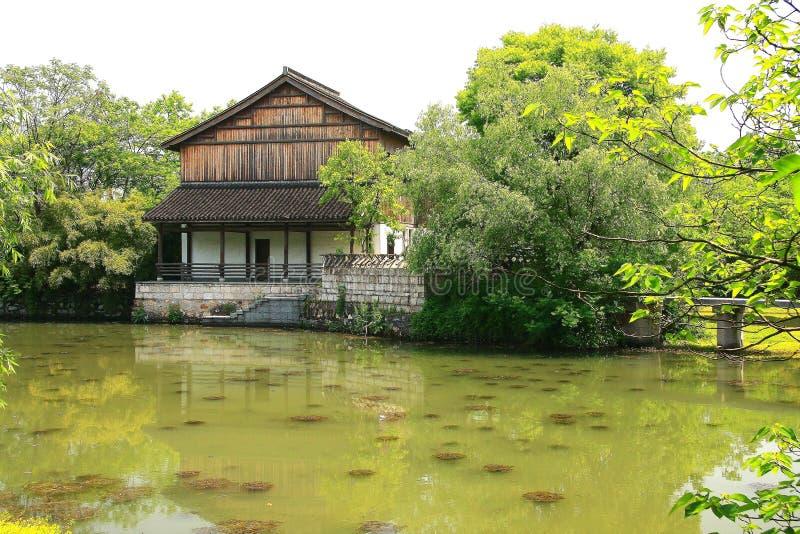 Xixi υγρότοπος στο huangzhou, zhejiang, Κίνα στοκ εικόνα