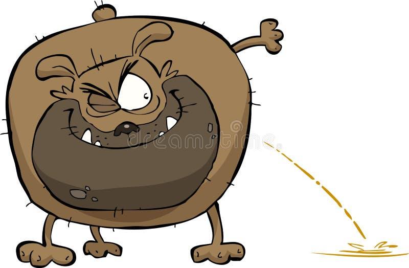 Xixis do cão ilustração royalty free