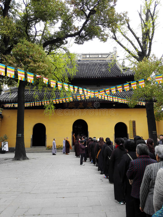 Xiyuantempel royalty-vrije stock afbeelding