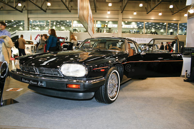 xj 1983 ягуара s стоковое изображение