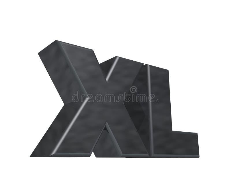 XL illustration de vecteur