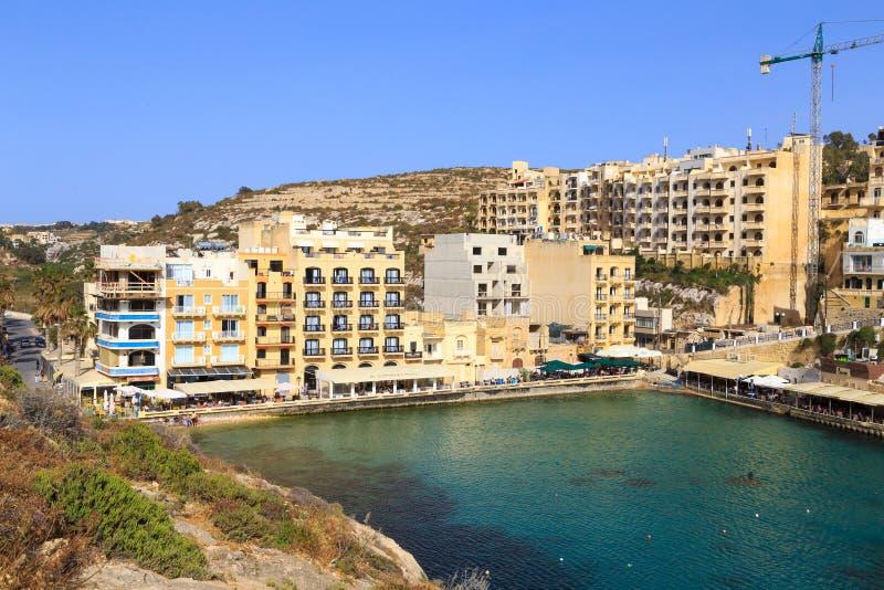 Xlendi, Gozo, Malta fotografia royalty free