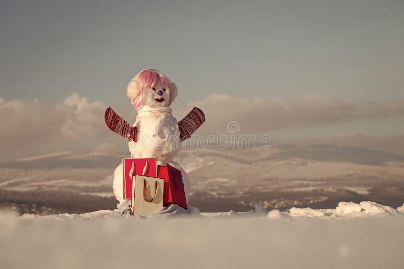 Xmas或圣诞晚会,当前组装 免版税库存图片