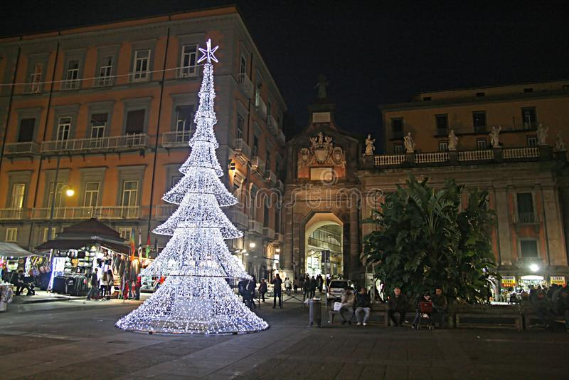 Xmas Неаполь стоковые изображения