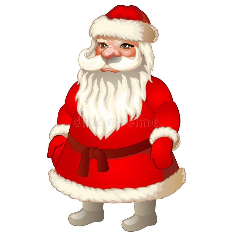 Xmas Санта Клаус Праздничный характер для украшать бесплатная иллюстрация