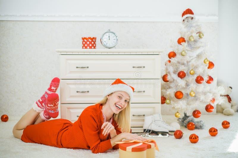 Xmas alegre e ano novo feliz Ano novo, Feliz Natal Natal Papai Noel fotos de stock royalty free