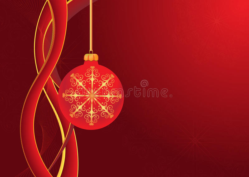 Xmas background royalty free illustration