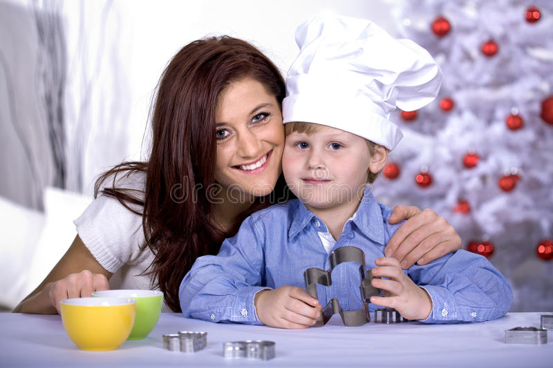 Download Xmas bakery stock photo. Image of childhood, gingerbread - 17111760