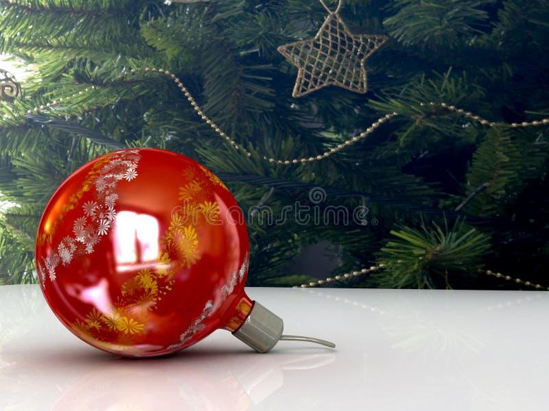Download Xmas ball stock image. Image of celebration, ribbon, tree - 5993517