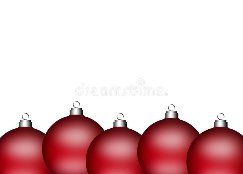 Download Xmas balls stock illustration. Image of bauble, dangling - 16891128