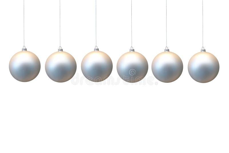 Xmas balls royalty free stock images