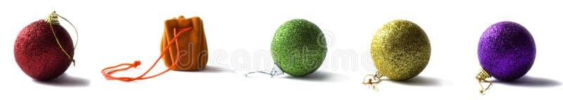 Xmas balls stock images