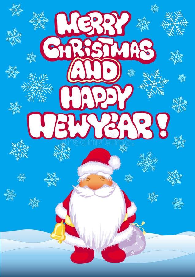Download Xmas banner with Santa stock vector. Illustration of cartoon - 16317867