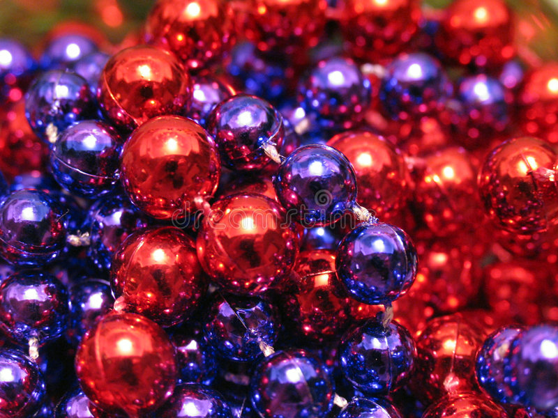 Download Xmas Beads Stock Photography - Image: 42412