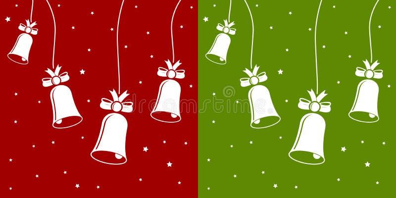 Download Xmas bells stock vector. Image of icon, decorative, ribbon - 11933826