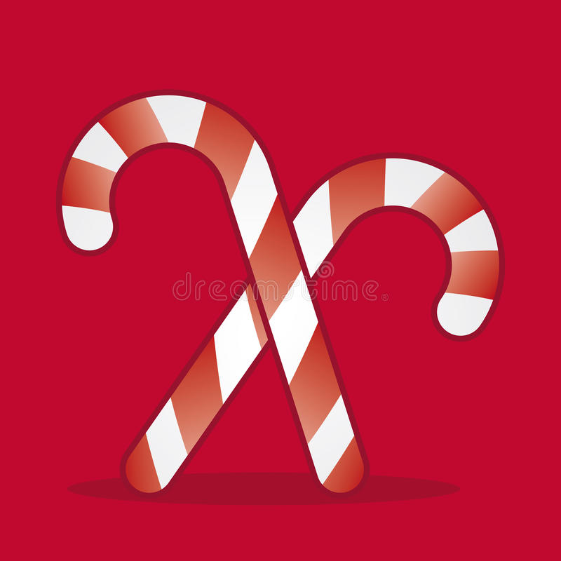 Xmas Candies Royalty Free Stock Photography