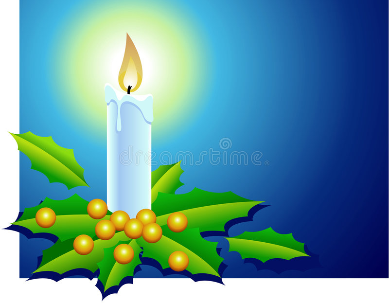 Download Xmas Candle 2 Stock Photography - Image: 1403042