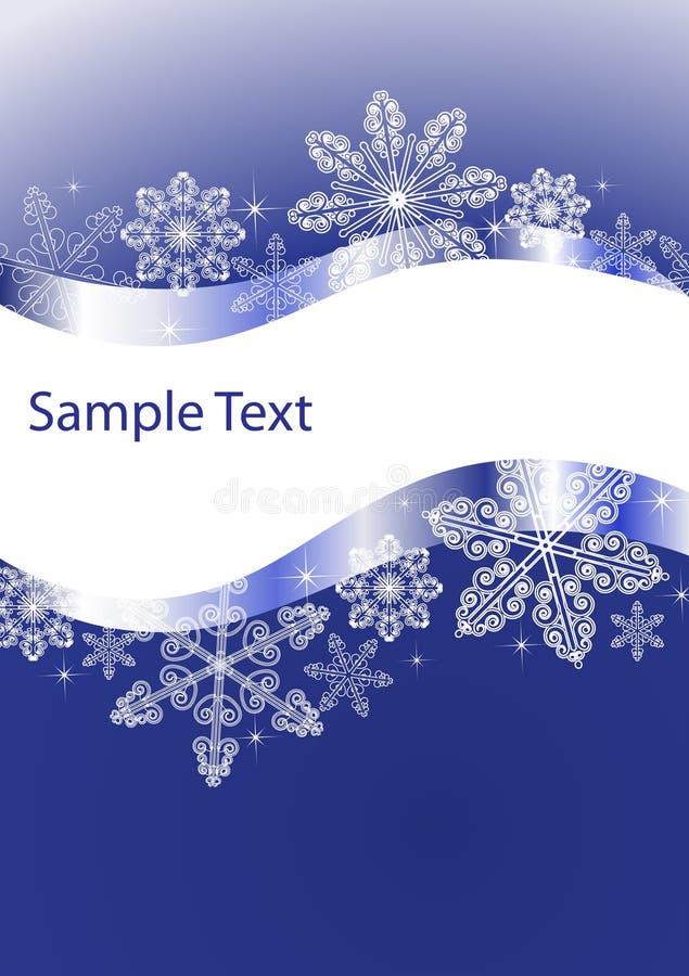 Xmas card vector illustration