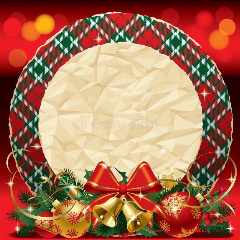 Download Xmas card stock vector. Illustration of holiday, card - 27296885