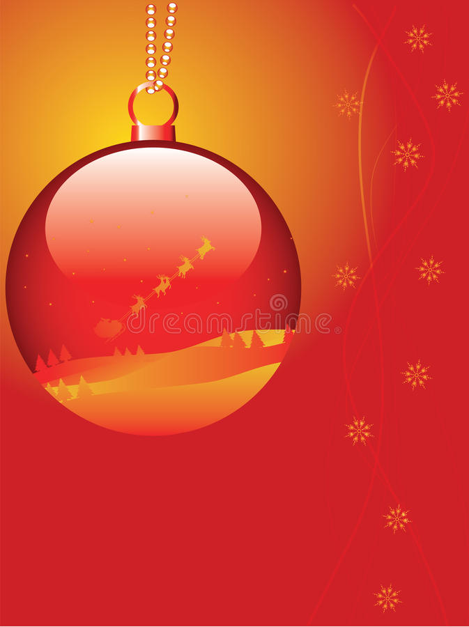 Download Xmas card vector stock vector. Image of nature, christmas - 11834577