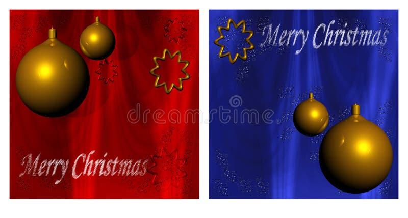 Xmas Cards Royalty Free Stock Image