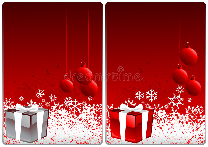 Download Xmas cards stock vector. Image of icicle, freeze, happiness - 6895902
