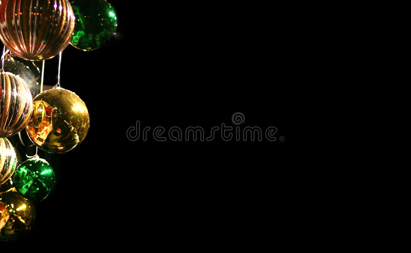 Download Xmas cluster stock photo. Image of ball, hanging, border - 360580