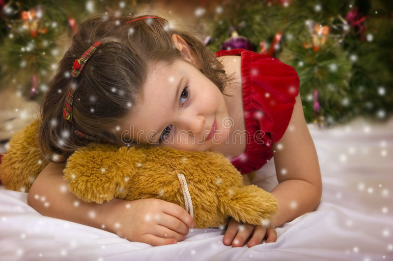 Download Xmas comes stock image. Image of emotion, child, happy - 3749467