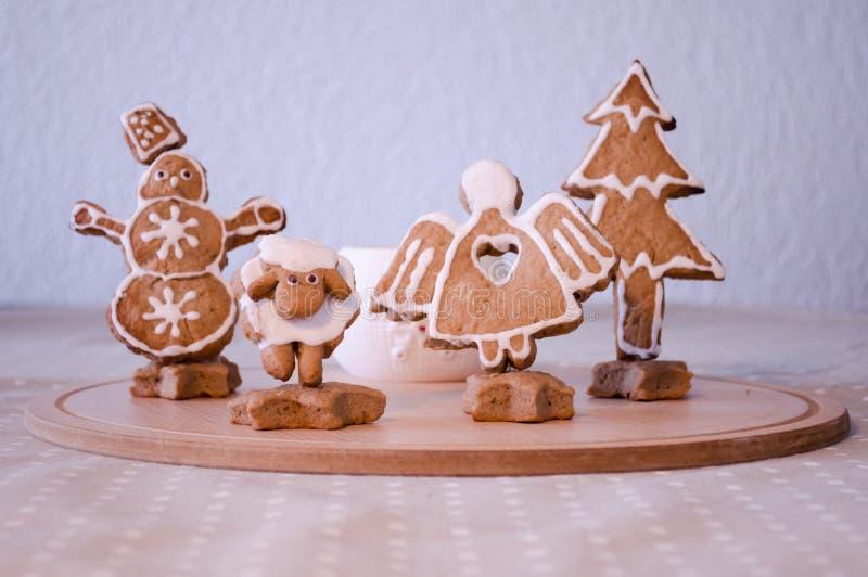 Xmas cookies royalty free stock image