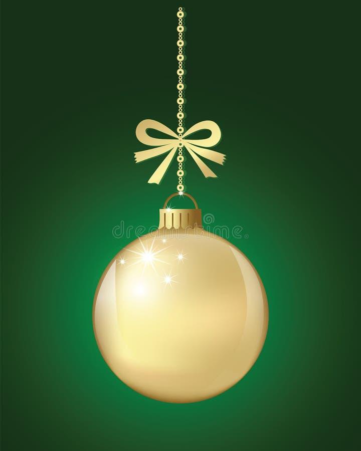 Xmas da bola do Natal e ano novo feliz ilustração do vetor