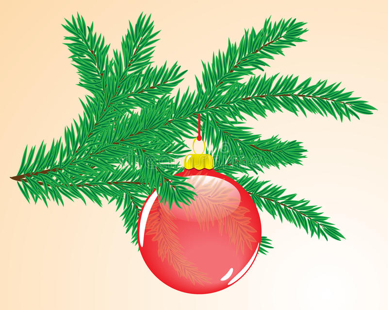 Xmas decoration royalty free illustration