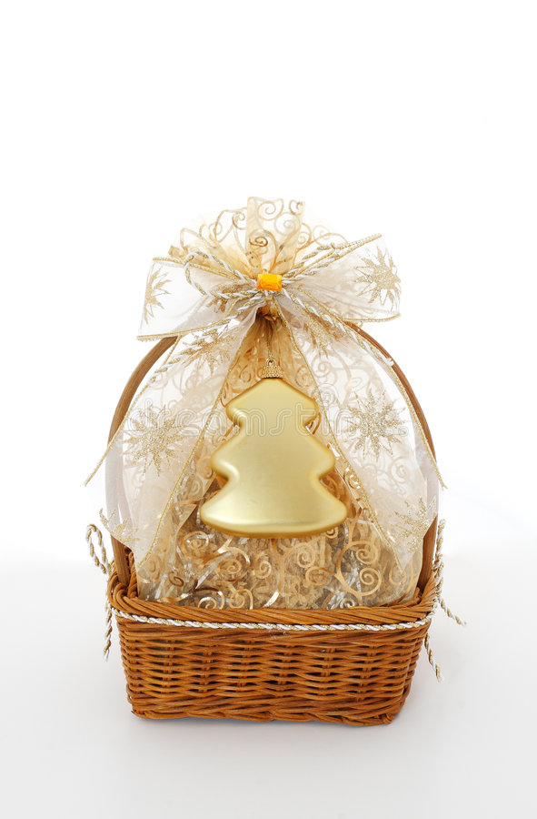 Download Xmas gift stock image. Image of present, white, snowflake - 7015423