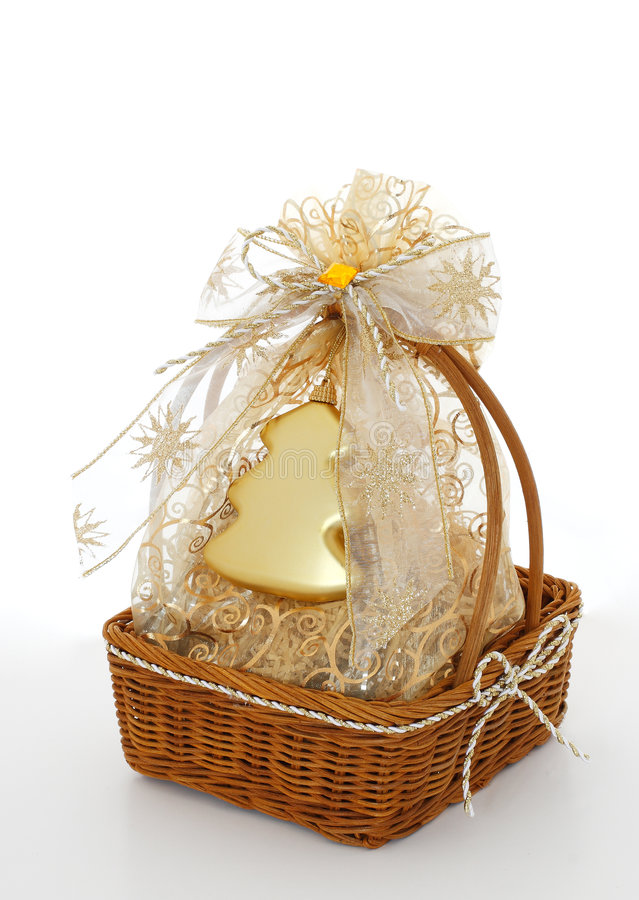 Download Xmas gift stock photo. Image of ribbon, sack, present - 7015434